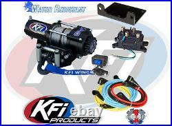 2000 lb KFI Winch Combo Polaris Sportsman 550 850 XP & 2011-2021 400 500 570 800