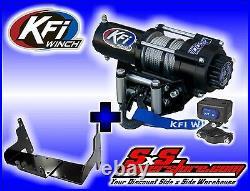 2000 lb KFI Winch Mount Combo Polaris Sportsman 500 1996-2003 & 400 2001-2003