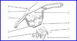 2021 Genuine Polaris Sportsman 570 450HO HD Front Brushguard With Hitch 2884850
