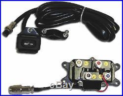 2500lb Mad Dog Winch Mount Combo Polaris ATV 11-20 Sportsman 400 450 500 800
