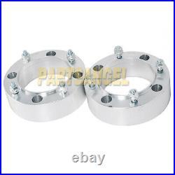 (2) 2 4x156 Wheel Spacers for Polaris Sportsman 400 500 600 700 800 ATV UTV RZR