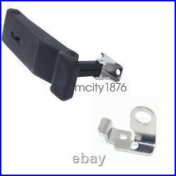 2 Pack Front Storage Rack Rubber Latch Kits For ATV Polaris Sportsman