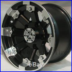 4 12 Rims Wheels for 1996-2013 Polaris Sportsman 500 IRS 393 MBML Aluminum