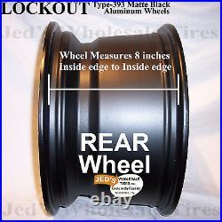 4 14 Rims Wheels for all Polaris Sportsman XP 850 Type 393 MBML Aluminum