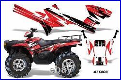 ATV Graphics Kit Decal Sticker Wrap For Polaris Sportsman 500/800 05-10 ATTACK R