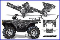 ATV Graphics Kit Decal Sticker Wrap For Polaris Sportsman 500/800 05-10 CAMO BLK