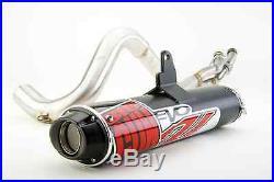 Big Gun Black EVO U Full Exhaust Pipe Muffler Polaris Sportsman 800 2005 2008