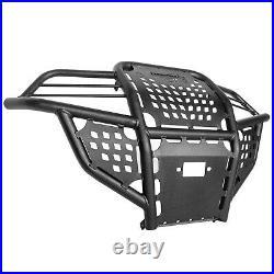 Bison 166-152H ATV Front Bumper Wrinkle Black Polaris Sportsman 850 1000 14-2020