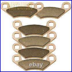 F+R Sintered Brake Pads For Polaris Sportsman XP 850 Severe Duty 2009-2015 New