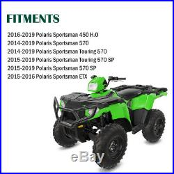 Front & Rear Brush Guard Bumper Set Fits 2014-2019 Polaris Sportsman 450 570 ETX