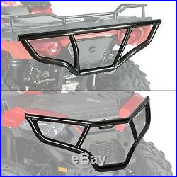 Front & Rear Brush Guard Bumper Set For 2014-19 Polaris Sportsman 450 570 & ETX