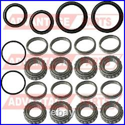 Front Wheel Bearings Seal Kit For Polaris Sportsman Worker 335 400 500 1995-2004
