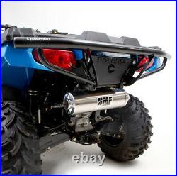 HMF Racing Defender Rear Bumper Black Polaris Sportsman 450 570