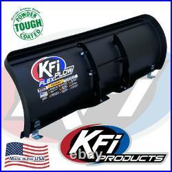 KFI 50 Poly Flex Blade ATV Snow Plow Kit for 2014-2021 Polaris Sportsman 570