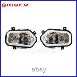 Left Right LED Headlight For Polaris Sportsman RZR XP & RZR XP 4 & RZR S 800 900