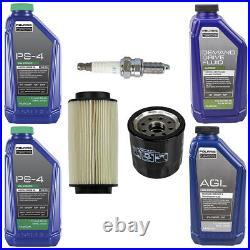 Polaris Fluid Oil Change Kit Air Filter Spark Plug for 2014-2019 Sportsman 570