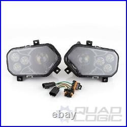 Polaris Scrambler RZR Sportsman Ranger LED Conversion Headlight Kit (Pair)