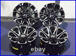 Polaris Sportsman 450 12 Sti Hd3 M Aluminum Atv Wheels Complete (set4) Pol3ca