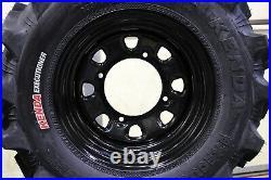 Polaris Sportsman 450 25 Executioner Atv Tire- Itp Black Atv Wheel Kit Pold