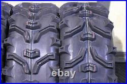 Polaris Sportsman 450 25 XL Bear Claw Atv Tire & Hurricane Wheel Kit Pol3ca