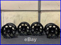 Polaris Sportsman 570 12 Itp Hurricane Aluminum Atv Wheels Complete Set4 Pol3ca