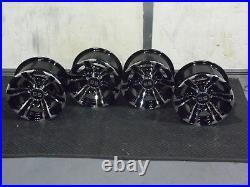 Polaris Sportsman 570 12 Raptor Atv Aluminum Wheels (set4) Life Warranty Pol3ca
