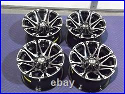 Polaris Sportsman 570 12 Sti Hd3 M Aluminum Atv Wheels Complete (set4) Pol3ca