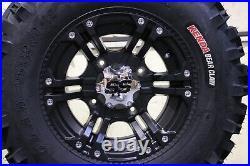 Polaris Sportsman 570 25 Bear Claw Atv Tire & Itp Ss212 Blk Wheel Kit Pol3ca