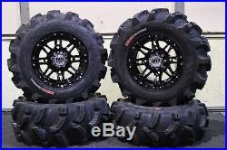 Polaris Sportsman 570 25 Executioner Atv Tire & Sti Hd3 Blk Wheel Kit Pol3ca