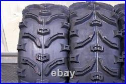 Polaris Sportsman 570 25 XL Bear Claw Atv Tire & Viper M/b Wheel Kit Pol3ca