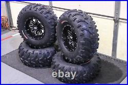 Polaris Sportsman 570 26 Bear Claw Atv Tire & Sti Hd4 Wheel Kit Pol3ca