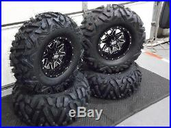 Polaris Sportsman 570 26 Quadking Atv Tire & Sti Hd4 Wheel Kit Pol3ca Bigghorn