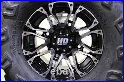 Polaris Sportsman 570 26 Wild Thang Atv Tire & Sti Hd3 M Wheel Kit Pol3ca