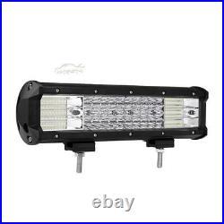 QUAD ROW 12INCH 1128W LED LIGHT BAR FIT FOR Polaris Sportsman/RZR/Ranger UTV ATV
