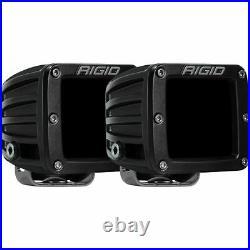 Rigid Industries D-Series Infrared Surface Mount Spot Light Pods Pair