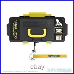 Superwinch Winch2Go 12V Portable Winch 4000 LB Capacity With 50' Steel Rope