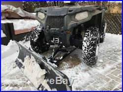Tusk SubZero ATV 50 Snow Plow Kit Polaris Sportsman 450 500 600 700 800 HO