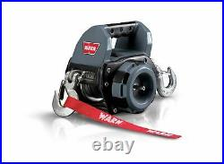 Warn 910500 500 LB Capacity Electric 12 Volt Drill Winch With 30 FT Wire Rope